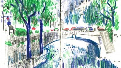 The Green Sketchbook