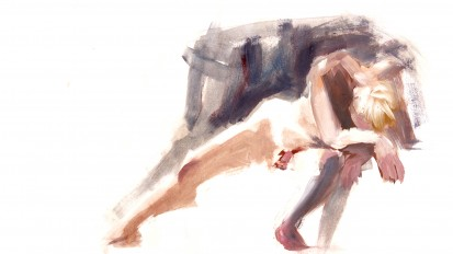 Colour life drawing